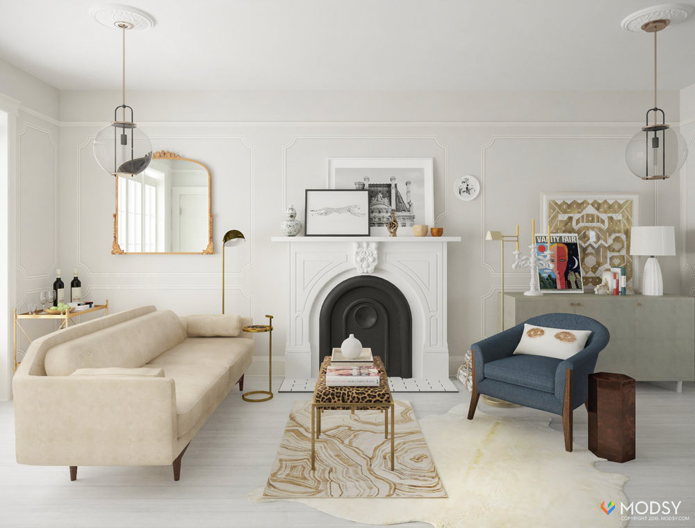 One Room Two Ways: My (virtual) Living Room Makeover With