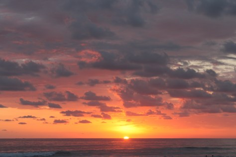 Sunset at Playa Hermosa, Costa Rica 2014