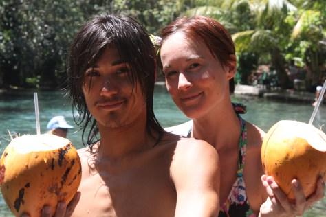 Coconuts at Ojo de Agua, Ometepe, Nicaragua 2014