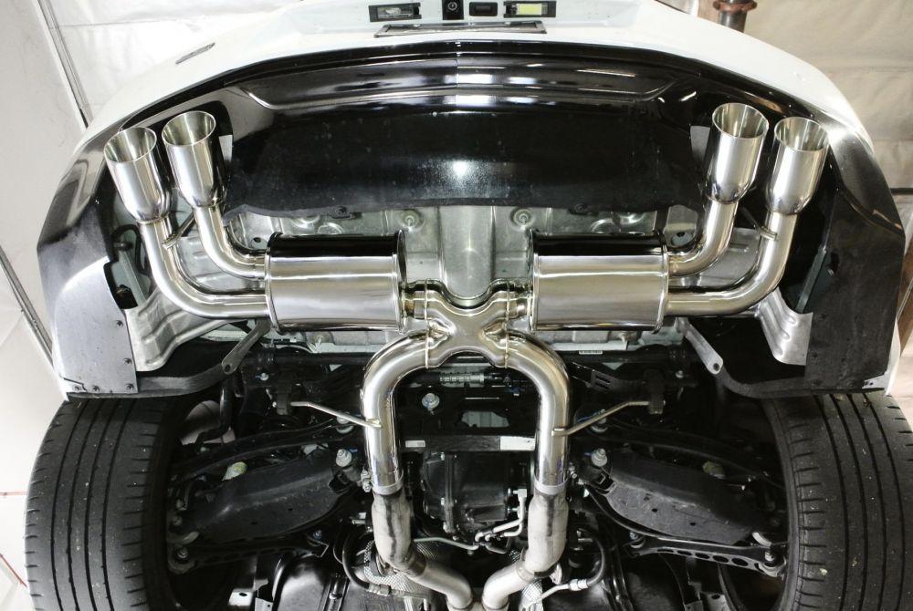 2017 camaro axle back exhaust