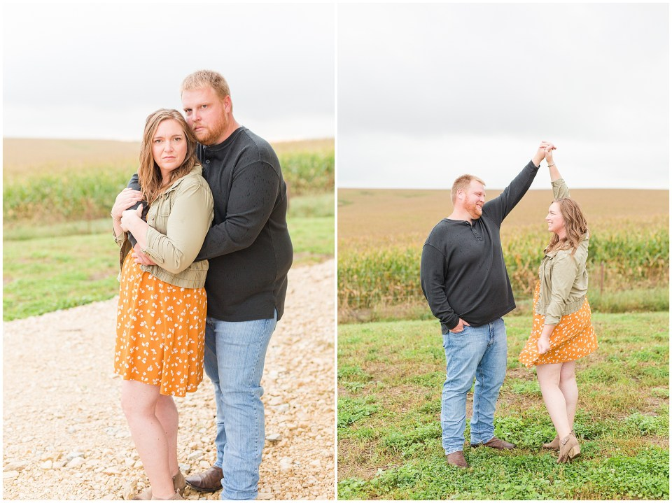Iowa City Wedding Photographers - Rural Iowa Engagement Session-Megan Snitker Photography_0035.jpg