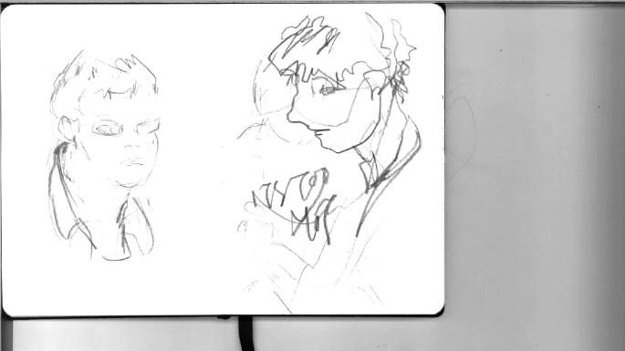 sketchbook paris 1