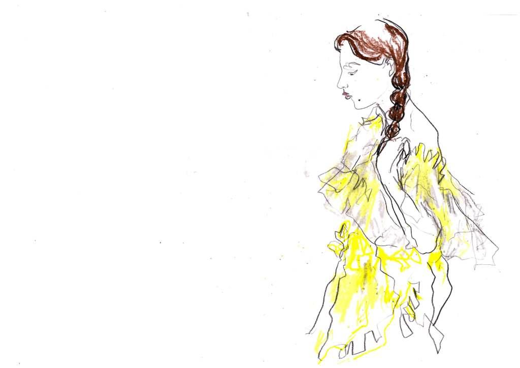Caroline Qiqi #AW19 at Shanghai Fashion Week by Megan St Clair