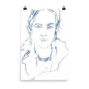 AKS Portrait – Art print