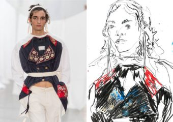 Recent work | Esquire Singapore | London Fashion Week Men's SS20 as seen through the eyes of a fashion illustrator