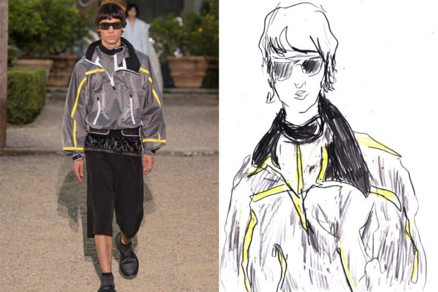 Recent work | Esquire Singapore | Pitti Uomo 96 SS20 as seen through the eyes of a fashion illustrator