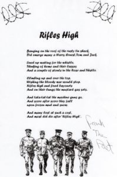 Rifles High by Francis Page