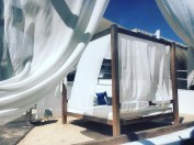The amazing cabana beds!