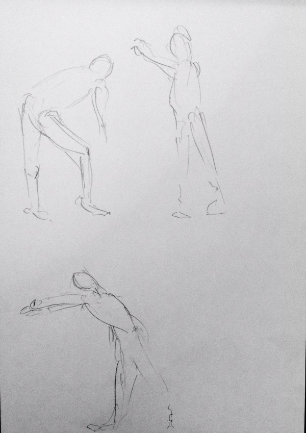 Life Drawing Facial Expressions Curved Form Gesture