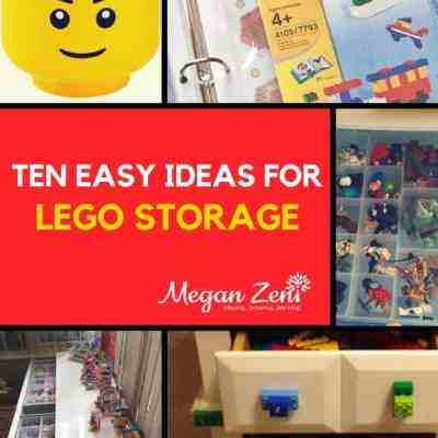 10 Easy Ideas For Lego Storage