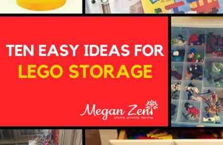 10 Easy Ideas For Lego Storage
