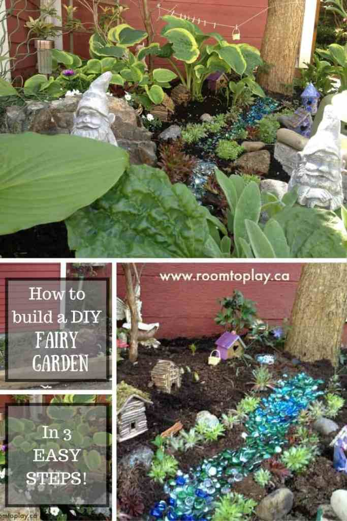 how to build a diy fairy garden in 3 easy steps - Diy Fairy Garden