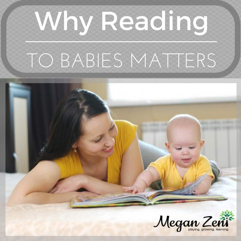 Why Reading to babies matters