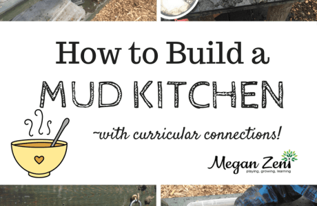 How To Build A Mud Kitchen