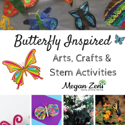 Butterfly Inspired STEAM