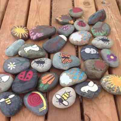 Garden Literacy With Story Stones