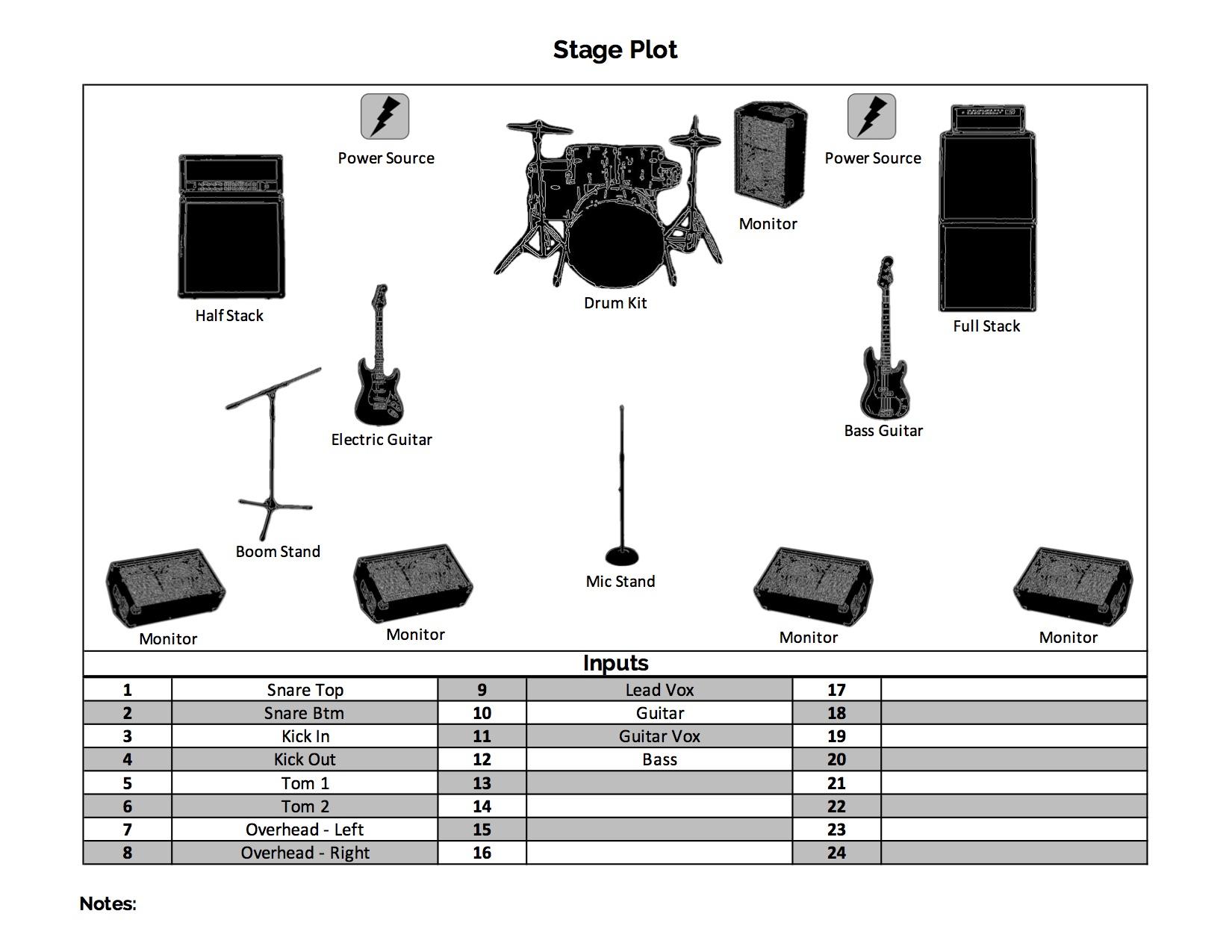 Stage Plot Designer