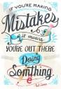 Doing something #motivation #inspiration #amwriting {Megaphone Society}