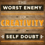 The worst enemy to creativity #motivaton #inspiration #amwriting {Megaphone Society}