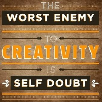 The worst enemy to creativity #motivaton #inspiration #amwriting {Megaphone Society}