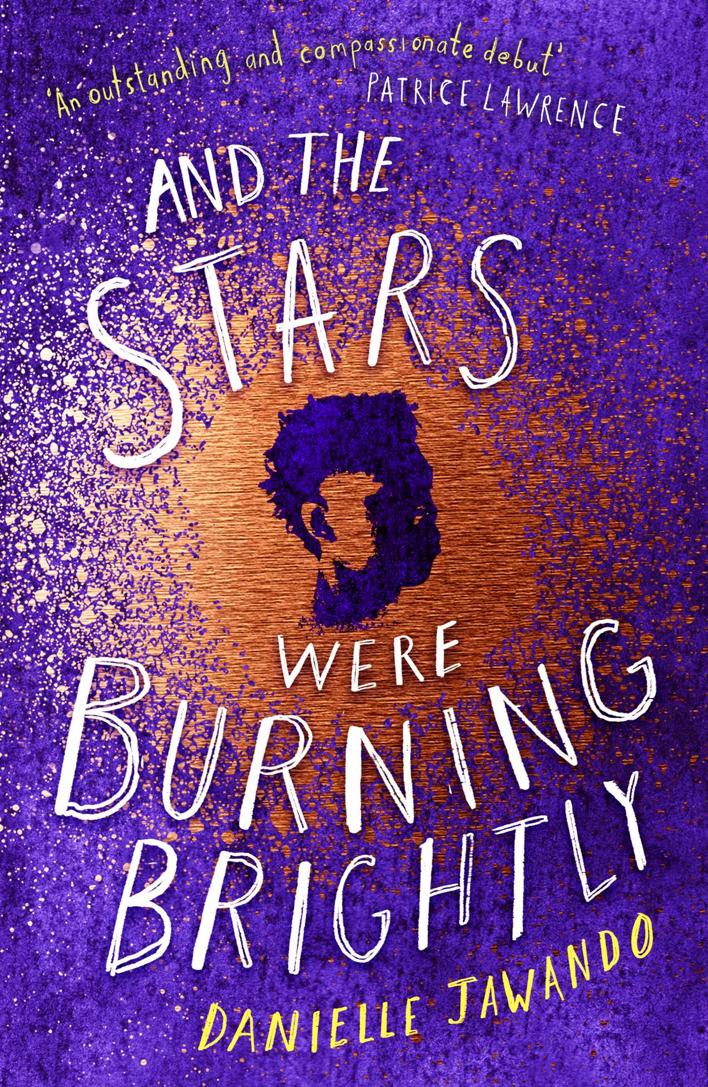 Book cover And the Stars were burning Brightly