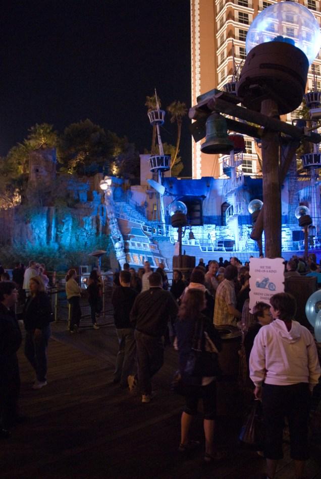 Sirens And Pirates Show Treasure Island Hotel And Casino Las Vegas Nevada
