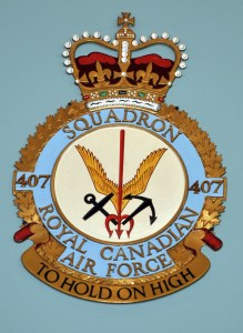 RCAF Squadron 407 To Hold On High