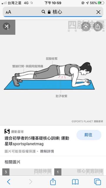 核心運動每天做這個會有效果嗎 - 健身板 | Dcard