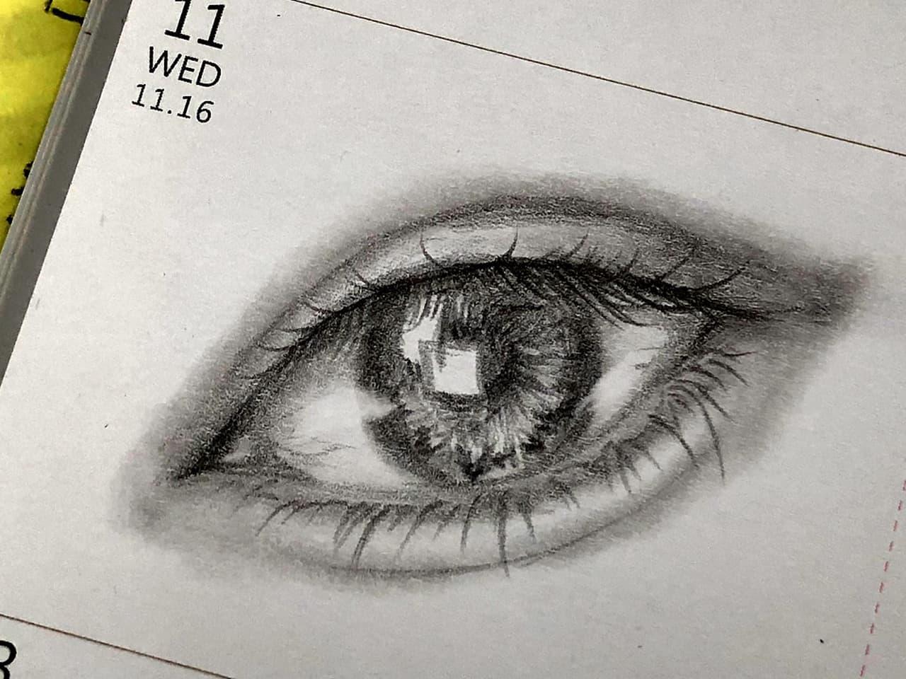 真的很喜歡畫眼睛 - 插畫板 | Dcard