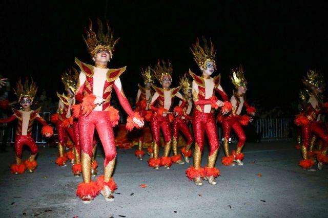Todo un éxito el inicio del Carnaval Playa Miramar 2017