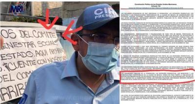 Ventilan uso de estructura de SEBIEN para apoyar a Ciro Hernández