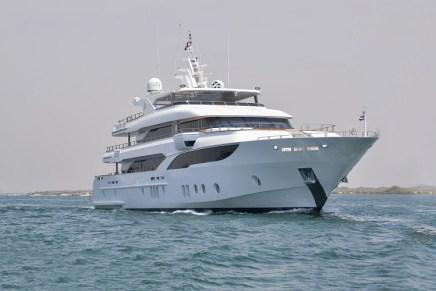 MAJESTY 155: El mega yate MÁS GRANDE del astillero Gulf Craft