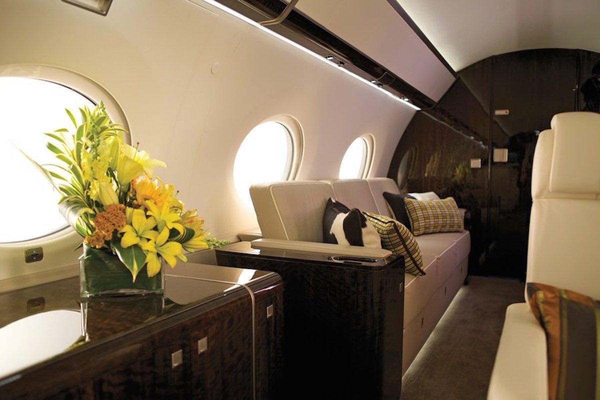 Así Luce El interior De Los 5 Aviones Privados Más Lujosos Del Mundo