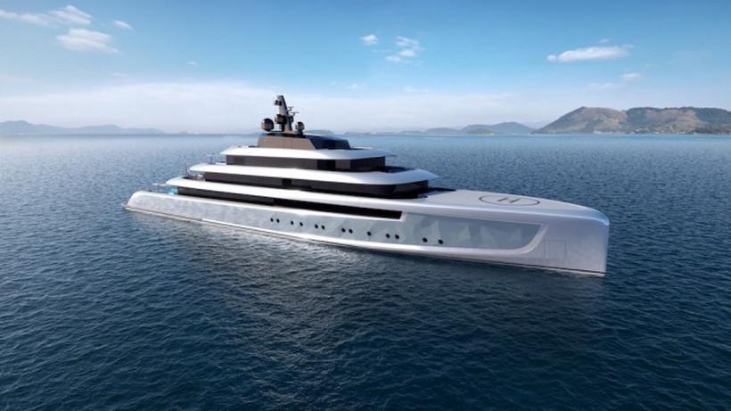 """El mega yate concepto """"Moonstone"""" ostenta una iluminación jamás vista en un barco de lujo"""