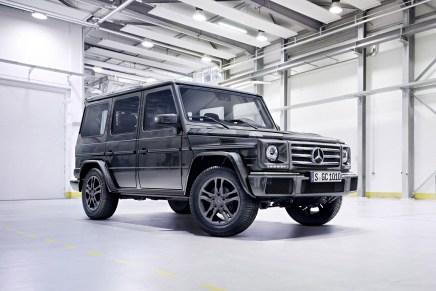 """Los poderosos todoterreno Mercedes-Benz """"G Class"""" se podrán adquirir ahora desde los $120.825"""