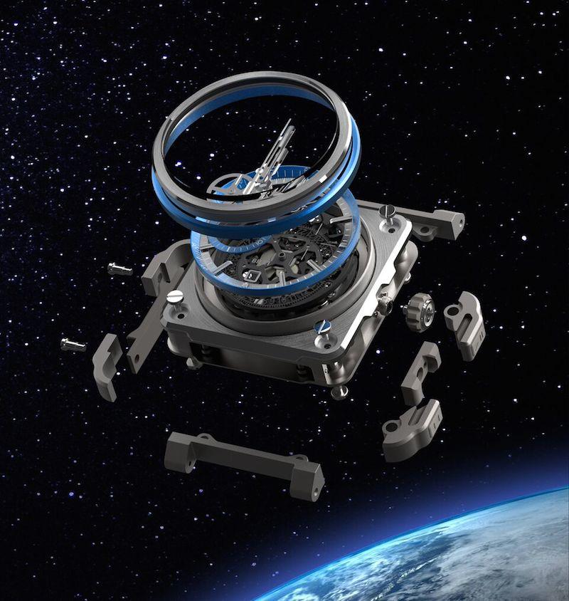 BR‐X1 HyperStellar: Bell & Ross Cronógrafo Vanguardista A La Conquista Del Espacio