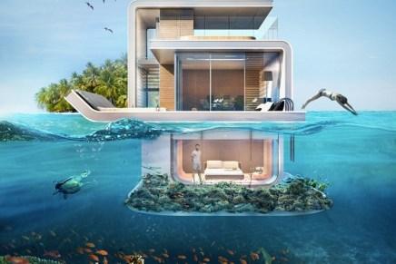 Floating Seahorse: Dubái se alista para hacer entrega de las primeras villas flotantes con habitaciones «bajo el mar» a sus dueños