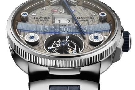 Grand Deck Marine Tourbillion de Ulysse Nardin: El reloj más complicado de la marca te costará $293.000