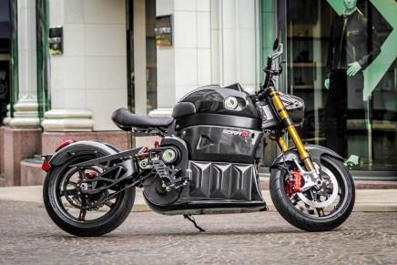 SORA: Una mega potente motocicleta eléctrica de Lito Green Motion