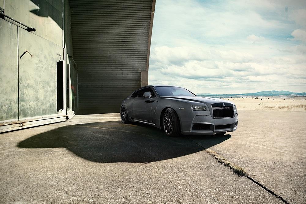 SPOFEC presenta esta increíble versión Overdose del Rolls-Royce Wraith