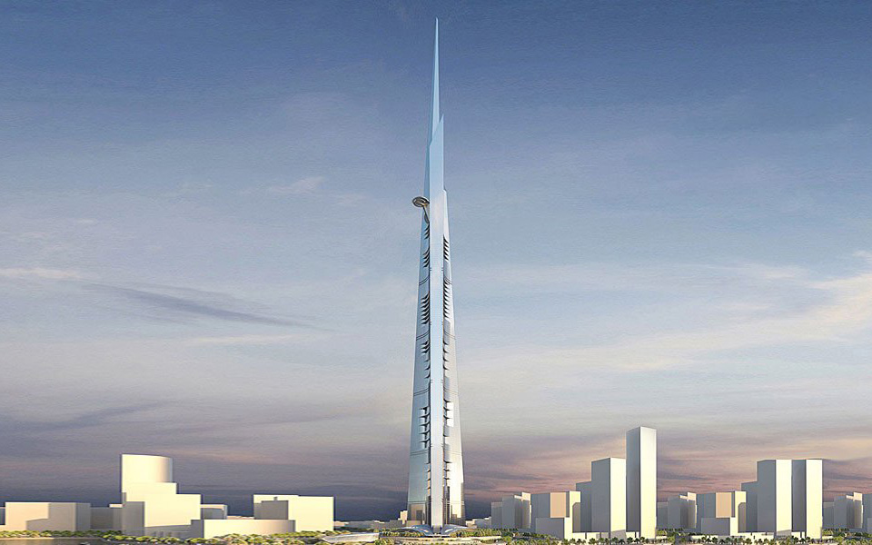 Jeddah Tower (Kingdom tower), Jeddah, Arabia Saudita
