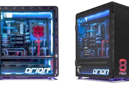 Orion X: El PC más poderoso y llamativo para los gamers con un increíble sistema de enfriamiento