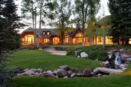 Por $29.9 millones puedes adquirir esta impresionante propiedad en las montañas de Aspen, Colorado