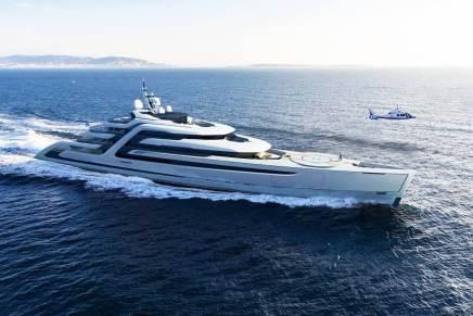 Estos 14 mega yates de lujo tienen piscinas, helipuertos y parecen verdaderas mansiones flotantes