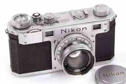 La cámara Nikon más vieja del mundo fue vendida por más de $400.000