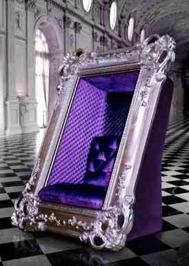 Esta majestuosa silla de Slokoski te hará sentir que en todo momento posas para un retrato