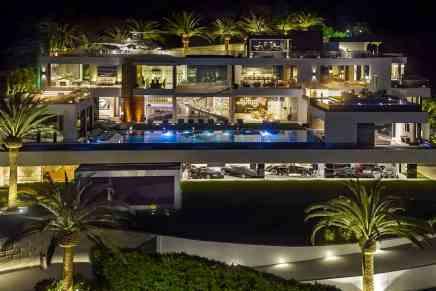 Esta alucinante mega mansión en la ciudad de Los Ángeles es la propiedad MÁS CARA a la venta actualmente en Estados Unidos ¡$250 MILLONES! Viene con autos de lujo y un helicóptero