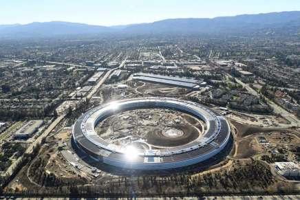 La GIGANTESCA casa matriz de Apple en Silicon Valley – en construcción por $5 MIL MILLONES – abrirá oficialmente el próximo mes de abril