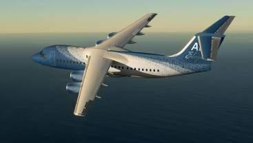 ABJ Eleganté: Este avión de negocios por DesignQ es como una lujosa residencia en el aire
