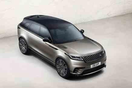 Esta es la nueva Range Rover Velar 2018
